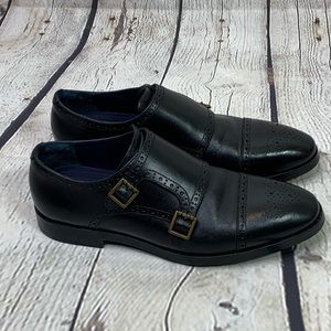 Cole Haan Grand OS Jefferson Monk Strap Shoes 10.5